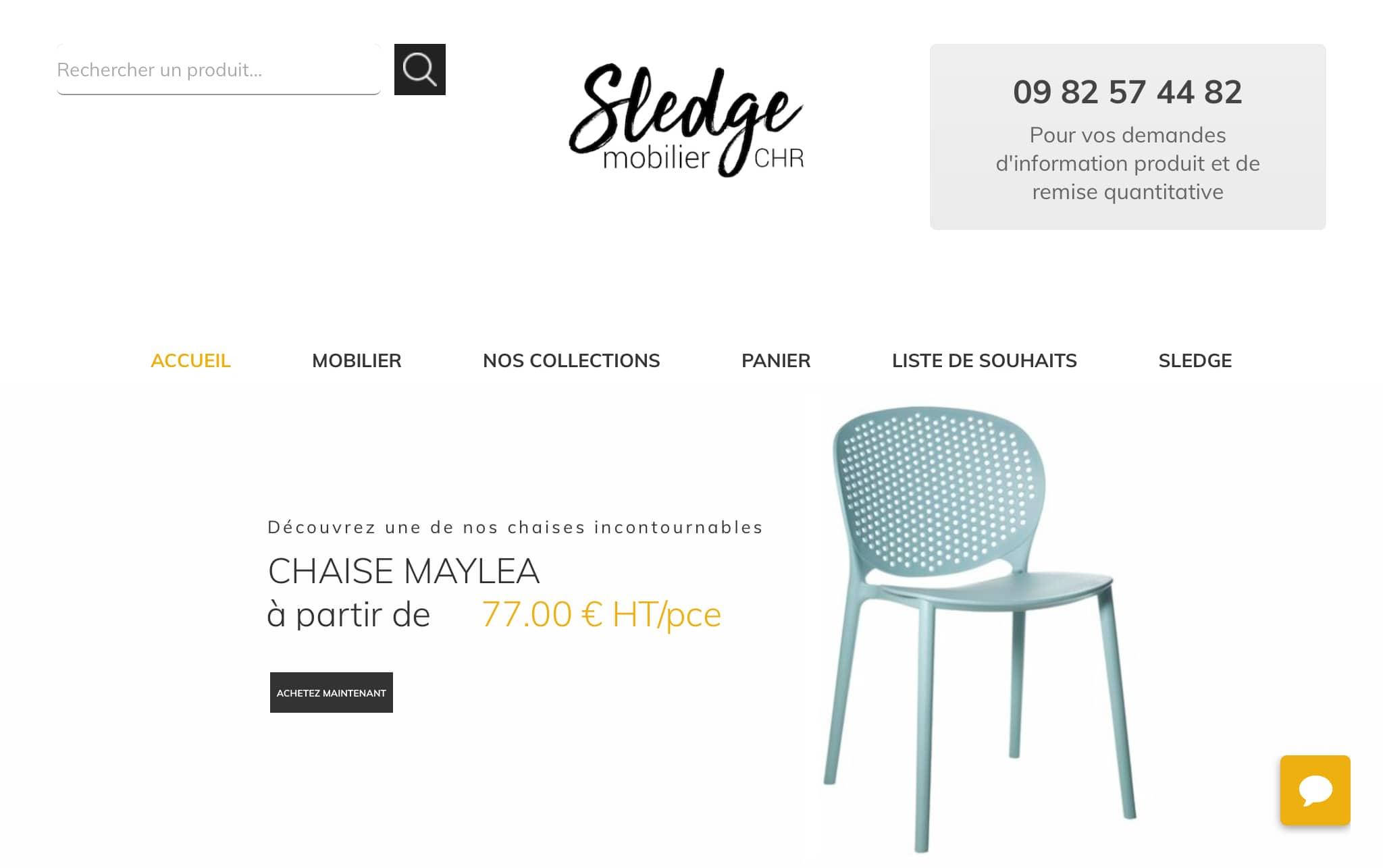 Sledge Mobilier CHR